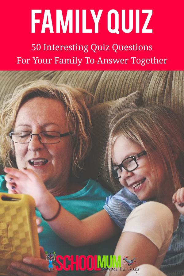 50 fun family quiz questions to answer together #quiz #familyquiz #family